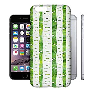 Phone Case For Apple iPhone 6 - Watercolor Trees Wrap-Around Cover