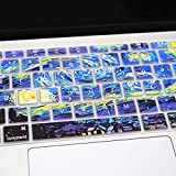 HRH Silicone Keyboard Cover Skin for MacBook Newest