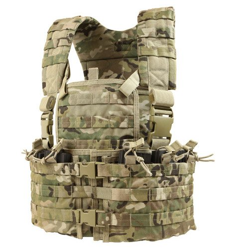 Load Carrier Set - Condor Outdoor Condor Modular Chest Set, Multicam, CS