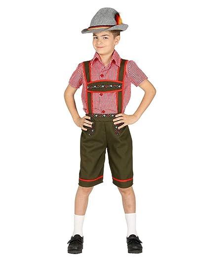 Horror-Shop Traje de niño Chico del Tirol L: Amazon.es ...