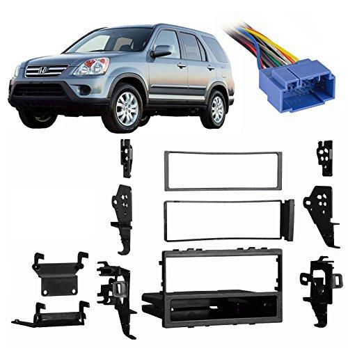 Fits Honda CRV 1999-2006 Single DIN Aftermarket Harness Radio Install Dash Kit (Dash Honda Crv compare prices)