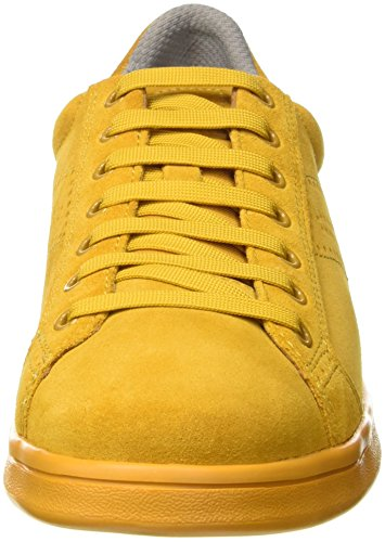 Geox Herren U Warrens B Low-top Gelb (curryc2021)