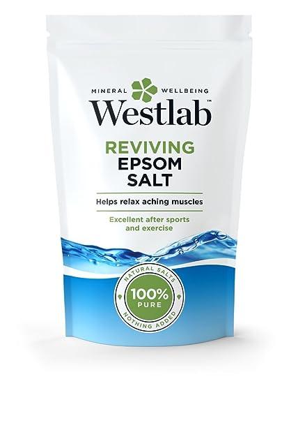 Westlab Epsom - Bolsa de sales para baño (1 kg)