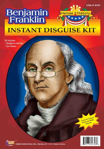 Forum Benjamin Franklin Instant Disguise Kit -