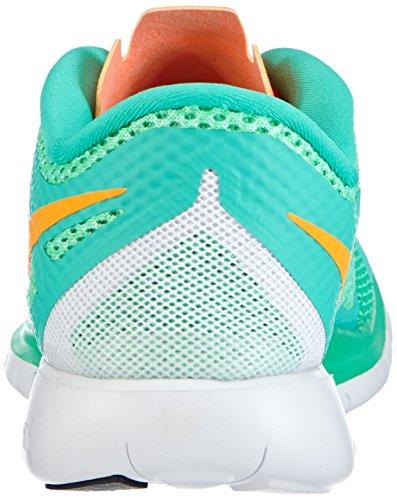 Nike Free 5.0 Vrouwen Loopschoenen Groen (menta / Helder Citrus-groene Gloed)