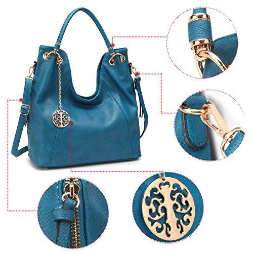 Womens Tote Shoulder Large Bag Satchel Hobo Purse Handle Designer Fashion Top Beige Handbag rwrxdE4