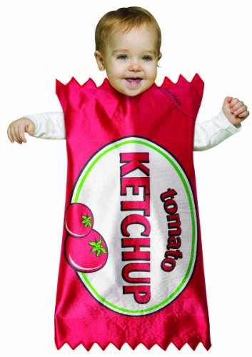 Costume French Fry Kid (Rasta Imposta Ketchup Bunting, Red, 3-9)