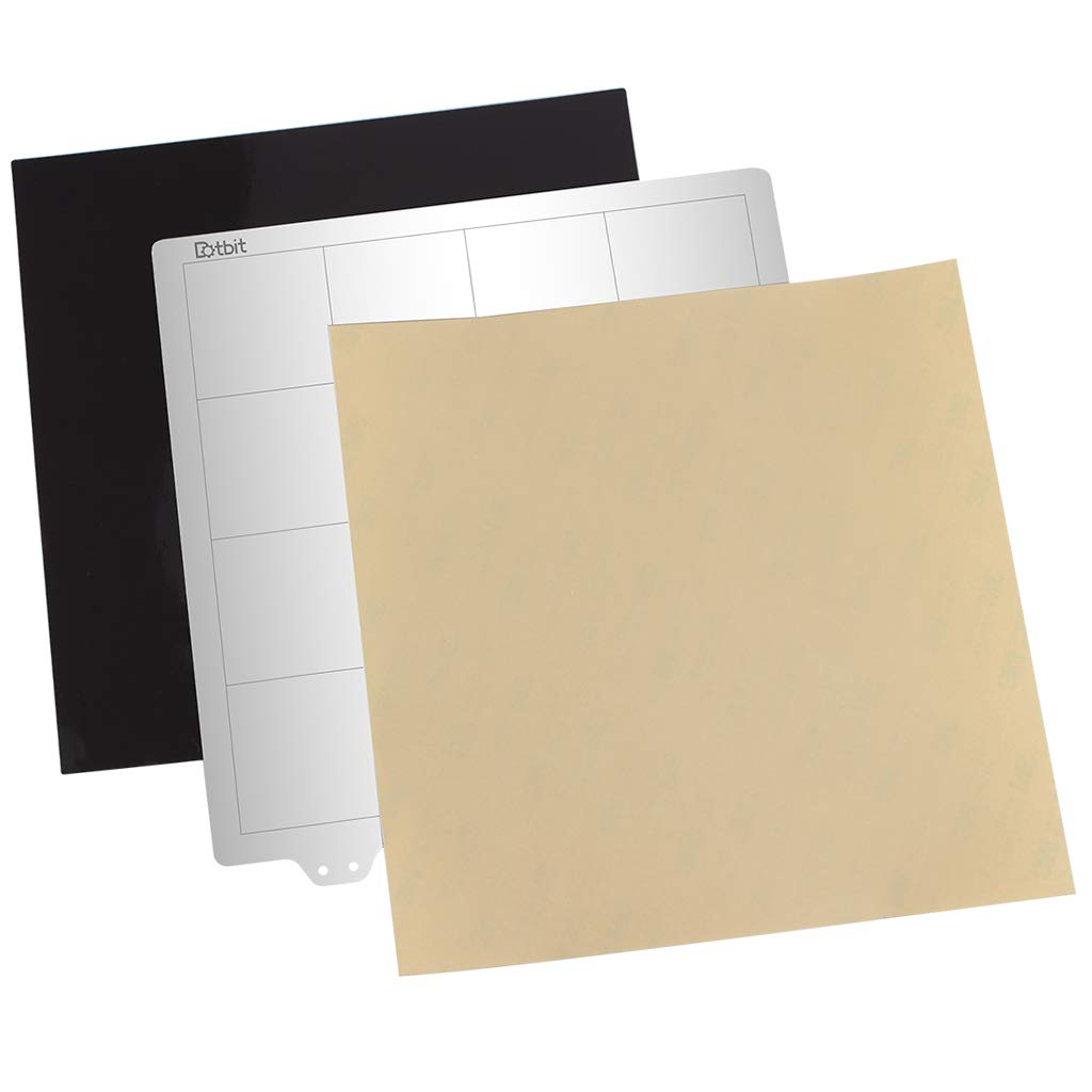 Almencla Plancha de Impresión Placa Base 220x220mm Hoja de Acero ...