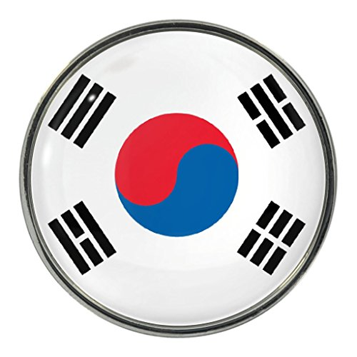 Republic of Korea Flag Design Pin Badge ()
