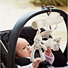 Baby Infant Soft Animal Handbell Rattles Bed Stroller Bells Developmental Toy LG