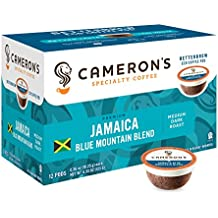 Cameron's Specialty Coffee, Jamaica Blue Mountain Blend, 72 Count, Single Serve