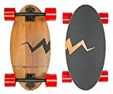 Mini Longboard Skateboard made with Bamboo Wood. Its 19 inch Cruiser Skateboard Deck makes it the Smallest among Skateboards and Longboards