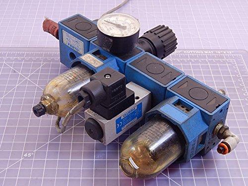 Festo HE-1/4-S-B, FRC-C-1/4-S-B-NPT Pneumatic Regulator Set Lock T98260