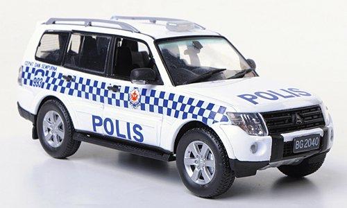 Mitsubishi Pajero, Polis, Model Car, Ready-made, Vitesse 1:43