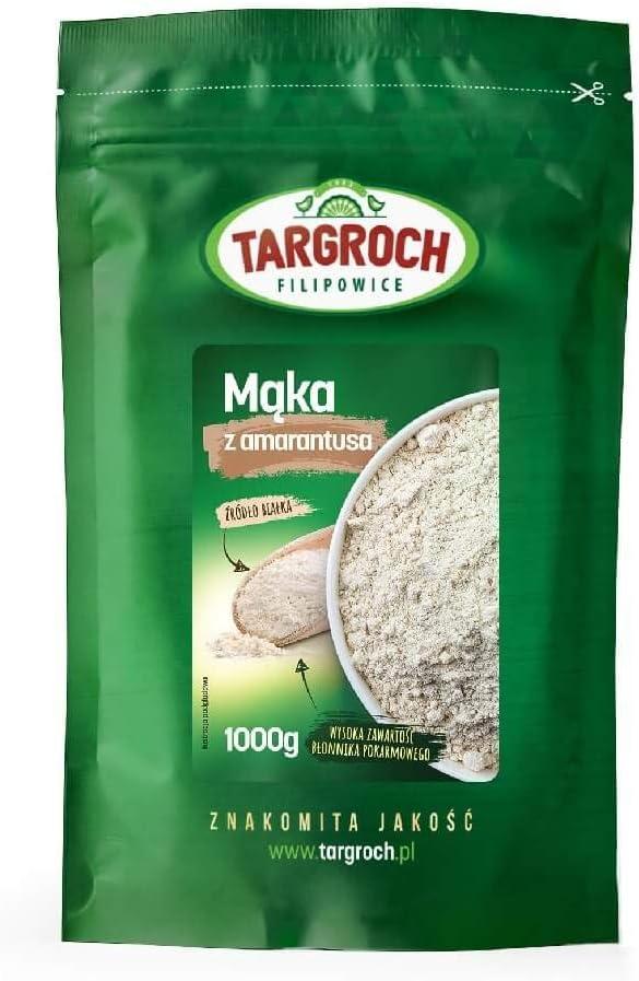 Harina de amaranto 1000g Targroch: Amazon.es: Alimentación y ...