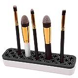 GooMart Silicone Makeup Brush Holder Cosmetic Organizer (Black)