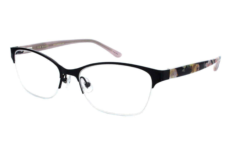 Amazon.com: Ted Baker B718 Womens Eyeglass Frames - Black: Clothing