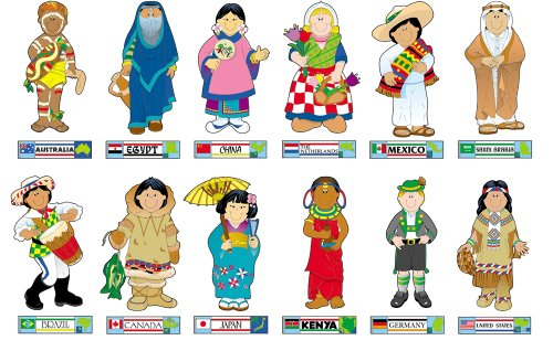 Carson Dellosa International Kids Bulletin Board Set (1710)