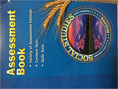 Regions By Scott Foresman 2003 Grade 4 Assessment Book