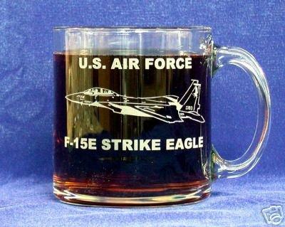- Custom Etched USAF F-15E