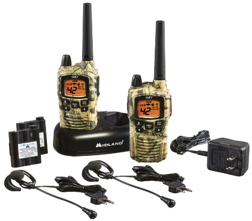 Midland GXT895VP4 42-Channel Mossy Oak Camo GMRS with NOAA Weather Alert and 36-Mile Range, Outdoor Stuffs
