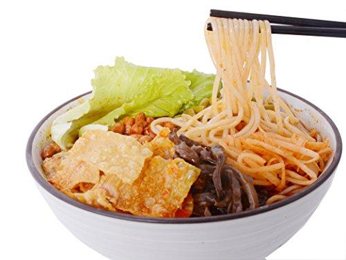 GuangXi LiuZhou Specialty Spicy Hot Instant Rice Noodle Vermicelli Snail Noodle Luo Si Fen Luo Shi Fen Luosifen luoshifen 螺蛳粉 螺螄粉 (White 280g)