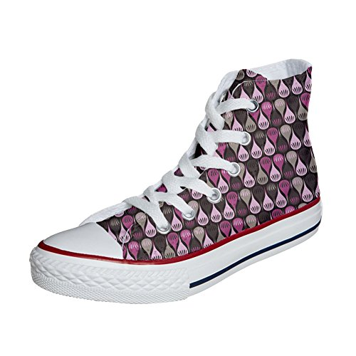 Converse All Star Hi chaussures coutume (produit artisanal) Drops