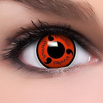 Bien connu FUNZERA®[Shanringan] Lentilles de Contact de Couleur Rouge-Noir  MR24