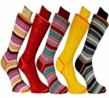 Stanley Lewis Jumbo Jim's Box of Men's Socks - 5 Pair