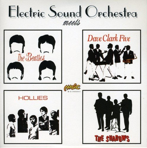 CD : Electric Sound Orchestra - Meets Beatles Hollies Shadows (France - Import)