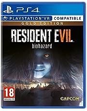 Resident Evil 7 PS-4 guld UK biohazard