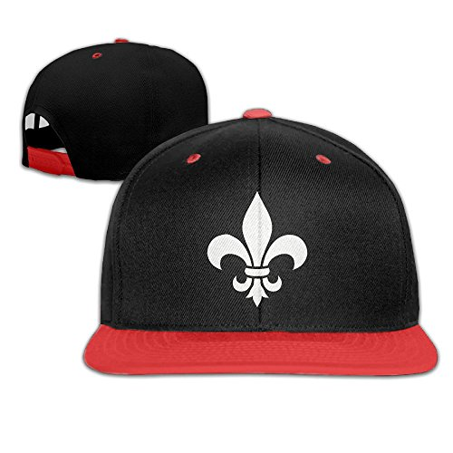 Flats Fleur Vintage Lis De (Fleur De Lis Adjustable Children Falt Hat Vintage Hip Hop Baseball Cap Trucker Hats)