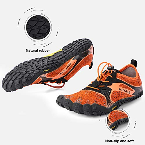 a4416cda4af hiitave Unisex Minimalist Trail Barefoot Runners Cross Trainers Hiking Shoes