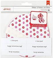American Crafts - Juego de Galletas de la Fortuna de San Valentín (12 Unidades)