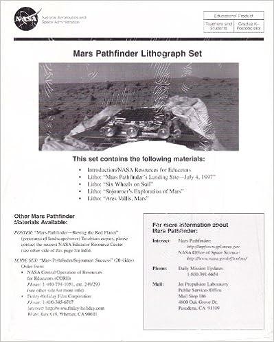 Mars Pathfinder lithograph set (SuDoc NAS 1.43/6:M 35)