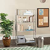 Symple Stuff Wire 53'' Etagere Bookcase