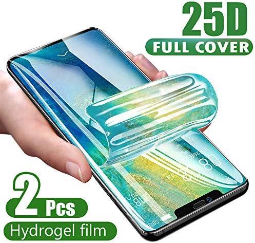 XLLXPZ 25Dスクリーンプロテクターハイドロゲルフィルム、iphone 6s 6 7 8 PlusX XR XS Max 11、保護フィルムガラスなし
