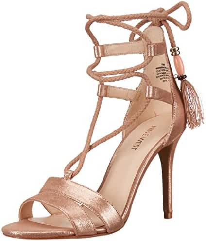 Nine West Women's Mangalara Metallic Dress Sandal