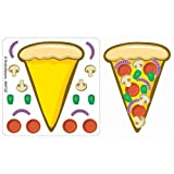 SmileMakers Make-Your-Own Pizza Stickers 100 Per Pack