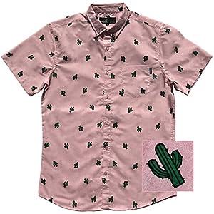 M MOLOKAI SURF Official Molokai Button up Slim Fit Hawaiian Short Sleeve Shirts 23