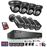 ANNKE8+2ChannelSecurityCameraSystem1080PLiteH.264+DVRwith 1TB HDD and(8)1.0MP720PWeatherproofCameras,EmailAlertwithSnapshots,EnableH.264+toRecordlonger,Savemoney
