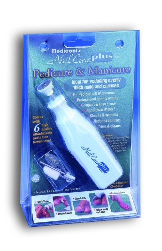 Nail Care Plus Personal Manicure/Pedicure Set by Medicool