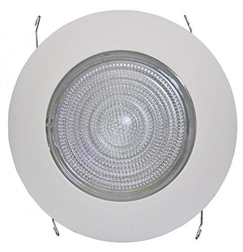 Fresnel Lens Trim - Four Bros - 6 Inches Fresnel Lens Shower Trim for Recessed Light/Lighting-Fits Halo/Juno