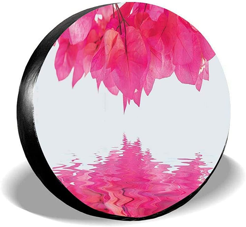 Jackie Prout ss Spare Tire Cover Universal Fit for Jeep,Trailer RV Truck and Many Vehicle 14 15 16 17 SUV
