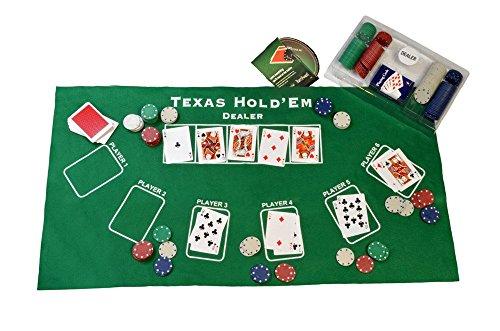 Ambassador ProPoker Texas Hold'em Beginners Complete (Texas Holdem Dealer Kit)