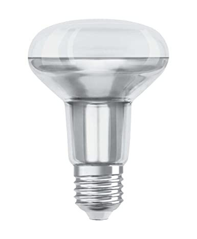 Sockel: E27 90 W 6er-Pack Warm White 2700 K Osram LED SuperStar R80 Reflektorlampe Ersatz f/ür 60-W 5
