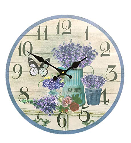 Creative Motion 14357-3 Wall Clock, Multi-Color