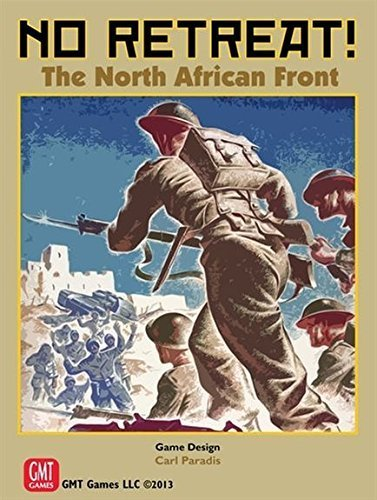 No Retreat! The North African Front (No Retreat Board Game)