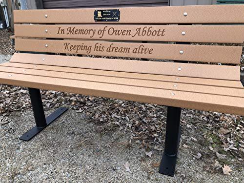 (Roudebush Company Memorial Park Bench)