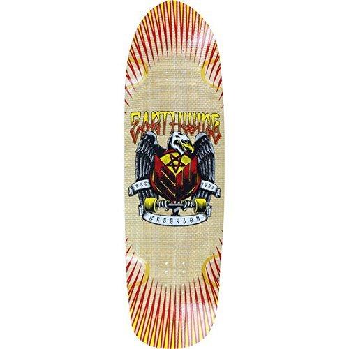 "Earthwing Thruster Natural Longboard Skateboard Deck - 9.75"" x 36"""